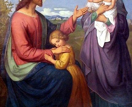Ellenrieder_Jesus_als_Kinderfreund_1845 Konstanz