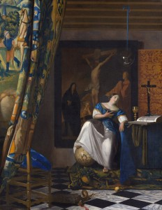 Allegory of the Catholic Faith *oil on canvas *114.3 x 88.9 cm *ca. 1670–72
