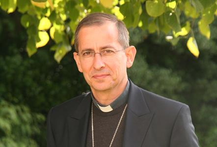 Mgr Thierry SCHERRER, évêque de Laval