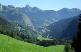 La magnifique vallée d'Abondance