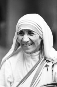 Septembre - octobre 1980: Mère Teresa lors du Synode sur la famille, Rome, Italie.