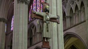 Le Christ par Goudji