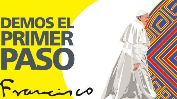 Visite du pape en Colombie