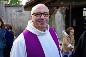 05 décembre 2015 : Mgr Hervé GOSSELIN à l'abbaye bénédictine de Maumont, Juignac (16), France.