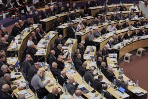5 novembre 2016 : Assemblée plénière des évêques de France à Lourdes (65), France.
