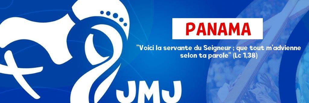 Journées Mondiales de la Jeunesse au PANAMA avec le Pape François JMJ-PANAMA-bandeau-4