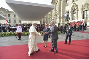 Président et pape