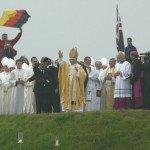 21 août 2005 - Allemagne - JMJ 2005 à Cologne: Messe de Clôture à Marienfeld.