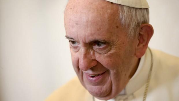 19 décembre 2017 : Portrait du pape François. Vatican.   December 19, 2017: Portrait of Pope Francis.  Vatican.