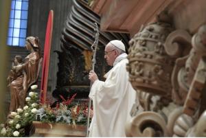 pape messe 1er janvier 2018