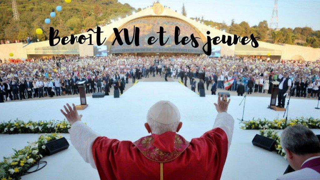 Benoit XVI et les jeunes