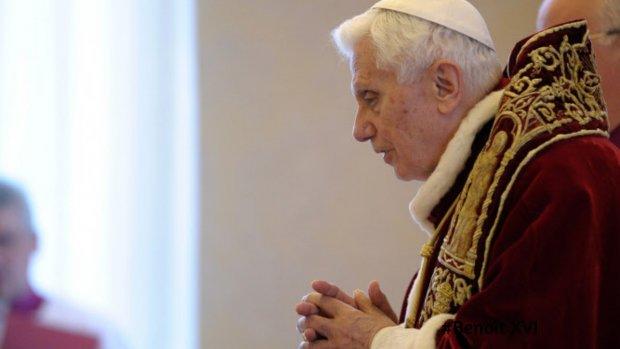 Benoît XVI - vignette site renonciation