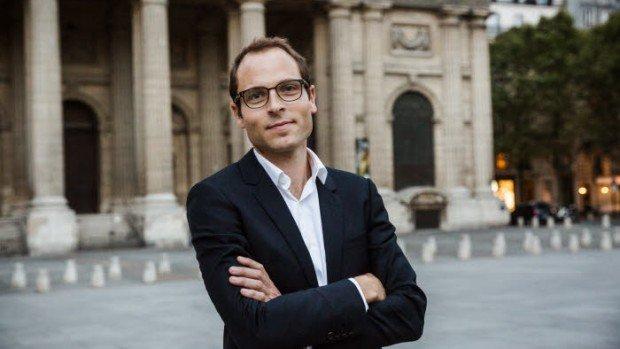 14 septembre 2016 : Portrait de Jean-Baptiste PASSE, directeur général de la librairie La Procure. Paris (75), France.