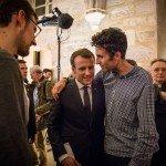 Rencontre aux Bernardins - Emmanuel Macron