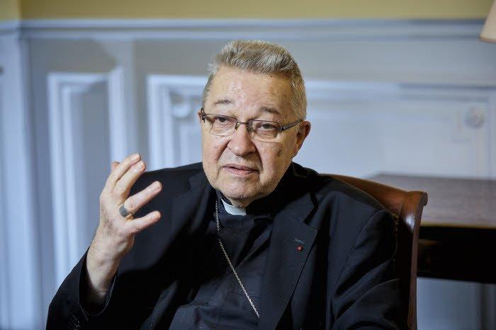 19 septembre 2017 : Mgr André VINGT TROIS, archevêque de Paris. Paris (75), France.