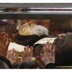 Reliques saint Padre Pio