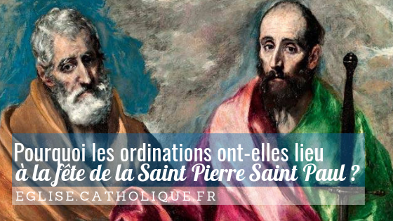 ordination saint paul pierre