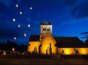 Paroisse de Montigny l'Allier (Diocèse de Soissons). Nuit des églises 2017