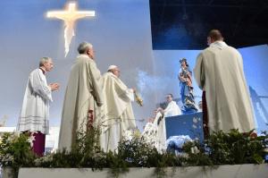 Pape messe Suisse 2