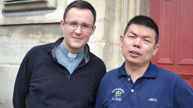 Pères Tanneguy Viellard et Joseph Zhao