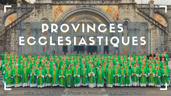 provinces ecclésiastiques