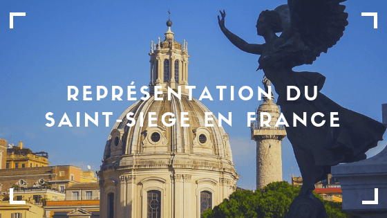 représentation du Saint-Siège en France