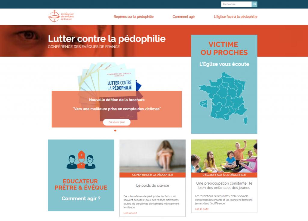 Site Lutter contre la pedophile