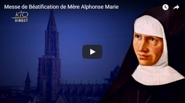 beatification mere alphonse marie