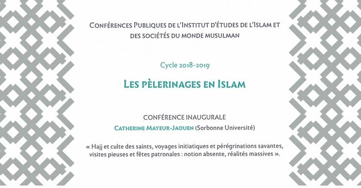 Conférence pelerinage en islam