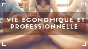 vie économique et professionnelle