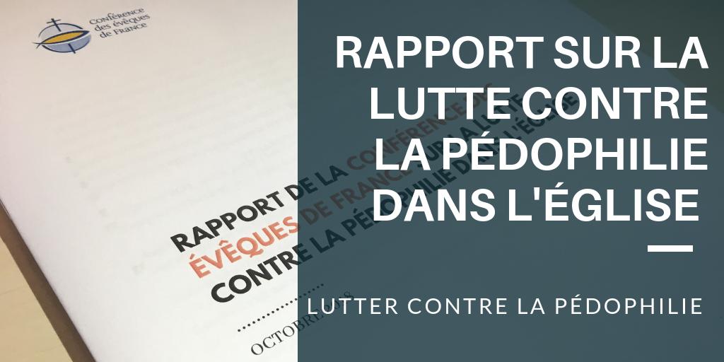 Rapport Lutter contre pédophilie
