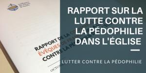 Rapport de la Conférence des évêques de France sur la lutte contre la pédophilie