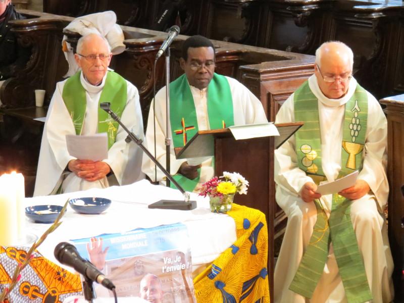 CEF - Focus sur le diocèse d'Arras - Père Bruno Dubreucq -Terres lointaines 2015 à Montreuil