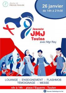 Journée préJMJ Toulon 26 1 19