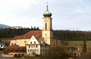 Basilique Notre Dame de Thierenbachédifiée entre 1719 et 1723 par Peter THUMB. Jungholtz, Haut-Rhin (68), Alsace, France.