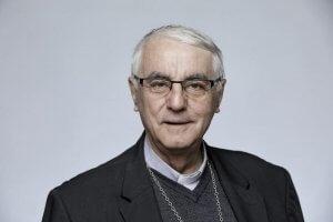 3 novembre 2017 : Portrait de Mgr Michel SANTIER, évêque de Créteil. France.