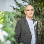 17 septembre 2018 : Mgr Laurent PERCEROU, évêque de Moulins et président du Conseil pour la pastorale des enfants et des jeunes (CPEJ). Paris (75), France.
