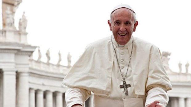 19 septembre 2018 : Portrait du pape François lors de l'audience générale place Saint Pierre au Vatican.  September 19, 2018: Pope Francis during the Wednesday general audience in Saint Peter's square at the Vatican.