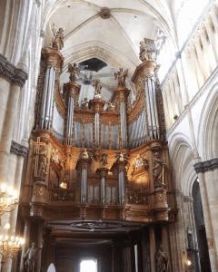 Buffet d'orgue Sant-Omer