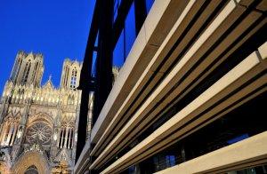 23 août 2011: Cathédrale Notre Dame de Reims (51), Champagne Ardenne, France.