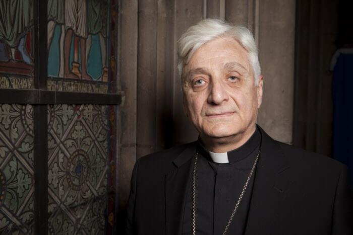17 juin 2012 : S.E. Mgr Antoine AUDO, évêque chaldéen d'Alep (Syrie), Président de CARITAS Syrie. N.D de Paris (75), France.