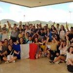 Pèlerins français JMJ Panama 2019