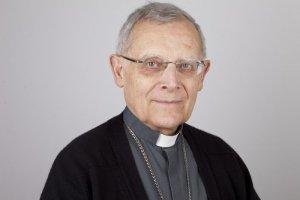 05 novembre 2011 : Mgr Albert Marie de MONLEON, évêque de Meaux. Conférence des Evêques de France, Lourdes, France.