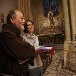 Soeur Francesca Piovesan et Frère Yannick Le Maou du Service du catéchuménat