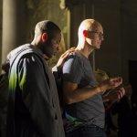 28 septembre 2019 : 5e édition du Congrès Mission. Imposition des mains et prière de guérison sur les personnes malades, lors de la veillée de guérison dans l'église Notre Dame des Champs à Paris (75), France.