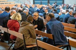 Mgr Jérome Beau à l'Assemblée plénière des évêques de novembre 2019