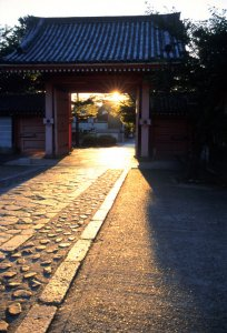 JAPON: KYOTO: TEMPLES BOUDDHIQUES (GINKAKUJI - HEIAN SHRINE) - MAISON CHRETIENNE (TROIS GENERATIONS).