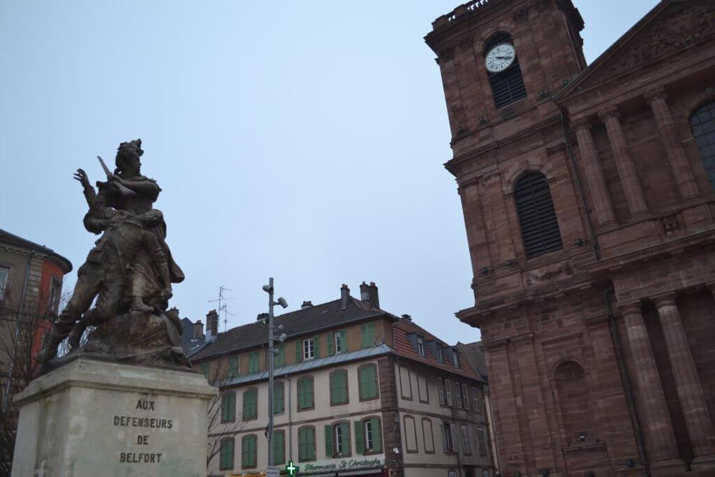 Monument commémorant la défense de la ville contre la Prusse en 1870