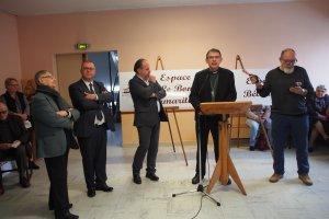 Inauguration de la Maison de la Diaconie en présence de Mgr Blanchet en 2018