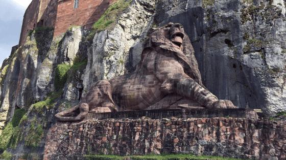 belfort lion
